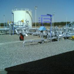 پروژه طراحی سیستم آب آتش نشانی، اعلام و اطفاء حریق تلمبه خانه های نفت شرکت ملی خطوط لوله و مخابرات نفت ایران.