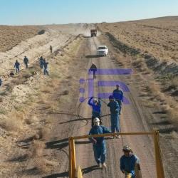 خدمات نظارت عالیه و کارگاهی پروژه فیبر نوری خطوط لوله گاز دار حد فاصل پاریز / کرمان(قطعه سوم)به روش PC